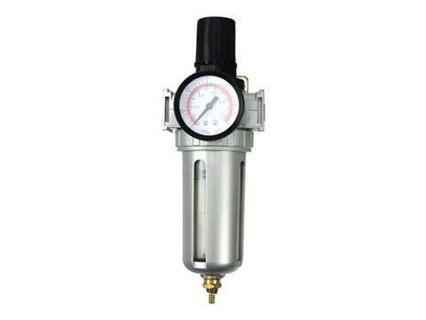 """Regulátor tlaku vzduchu 1/4"""" s mazáním"""