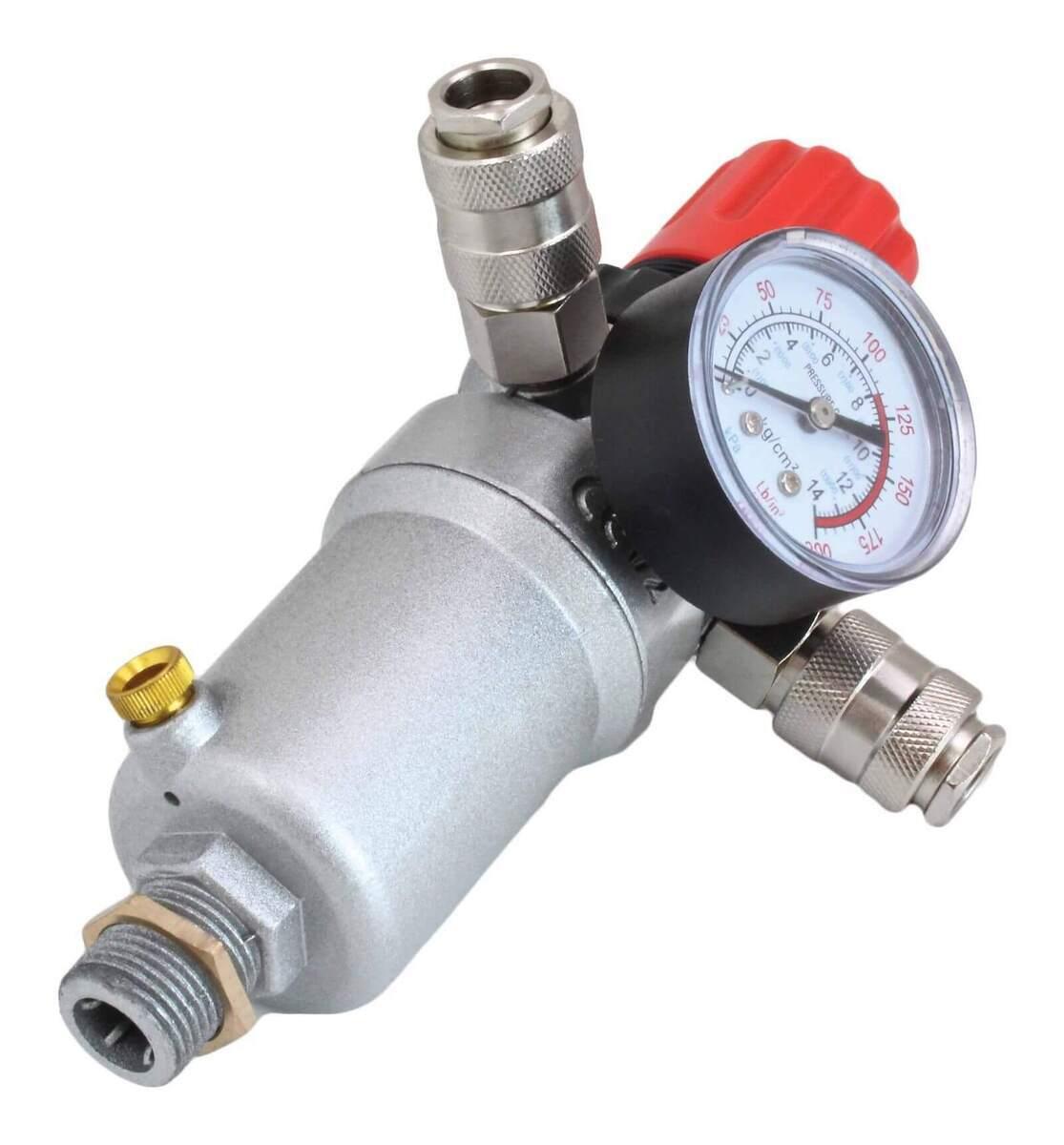 "Regulátor tlaku vzduchu - odlučovač vody 1/2"", max. 12 bar - ASTA"