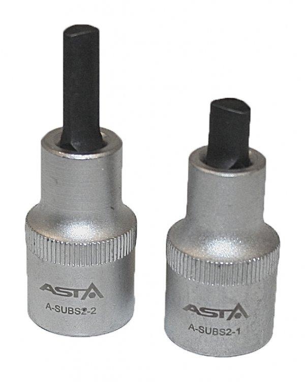 Nástavce rozpěrné - roztahovák na těhlice, pro montáž a demontáž uložení ramen 2 ks - ASTA