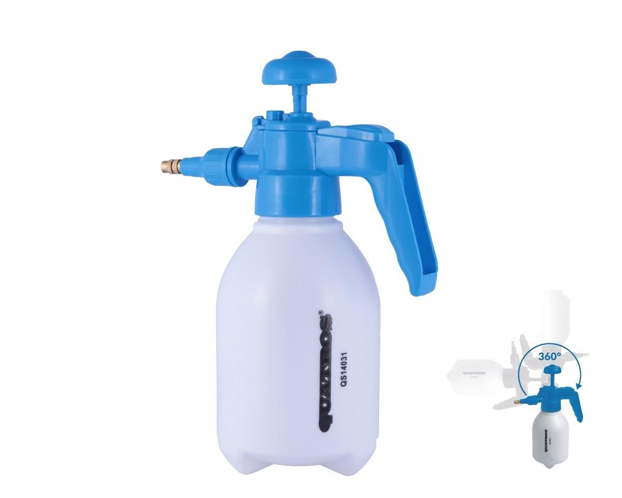 Rozprašovač s tlakovým čerpadlem, 1 litr - QUATROS QS14031
