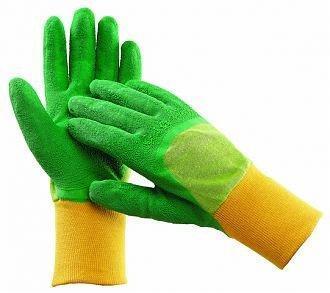 Pracovní rukavice dětské, máčené v latexu, velikost 5 - TWITE KIDS