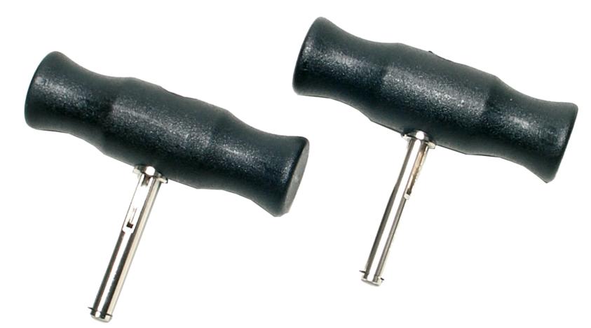 Rukojeti pro řezací drát 2ks - BGS 8003