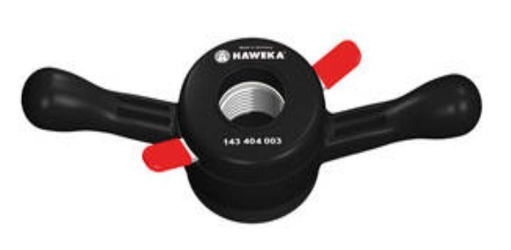 Rychloupínací matice 38x3 mm, pro vyvažovačky - HAWEKA ProGrip