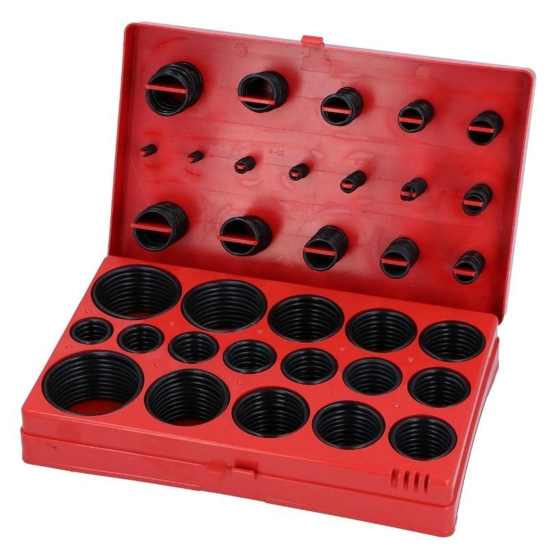 Sada gumových o-kroužků, 419 kusů