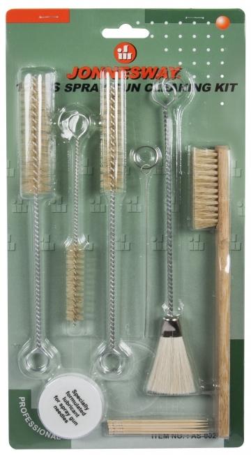 Sada na čištění lakýrnických pistolí - JONNESWAY AS-0026