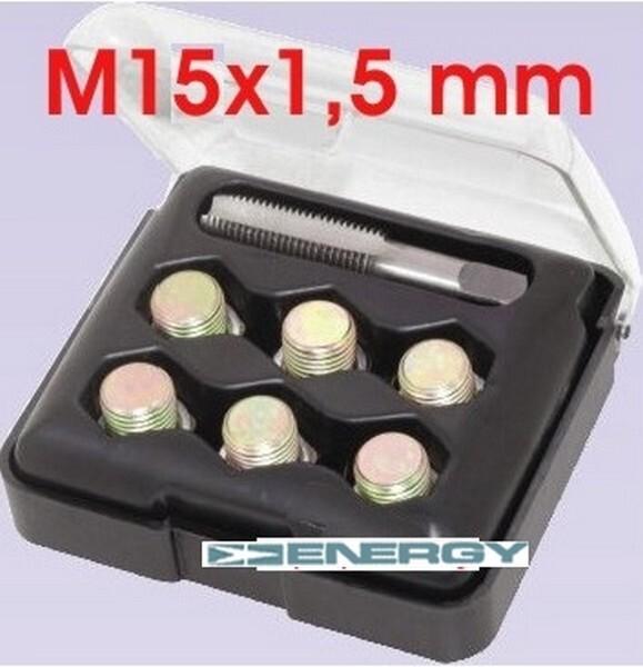 Sada na opravu závitů olejových výpustí M15x1,5