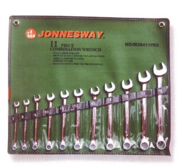 Sada očkoplochých klíčů, palcových, 11 kusů - JONNESWAY W26411SA