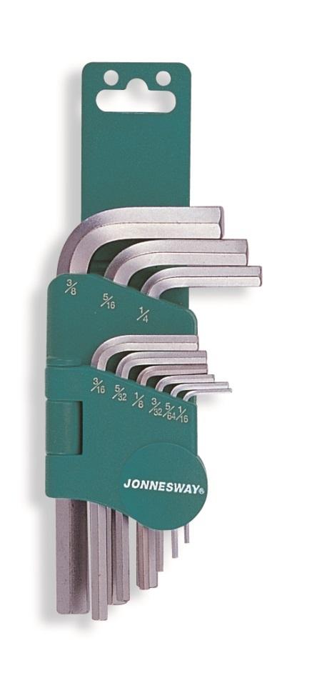 Sada palcových klíčů Imbus, 9 ks - JONNESWAY H01SM209S