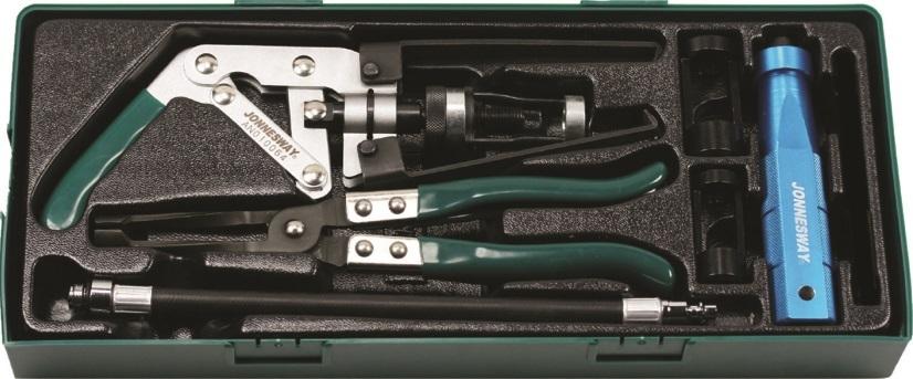 Sada přípravků na ventily, 6 kusů v kazetě - JONNESWAY AI10001SP