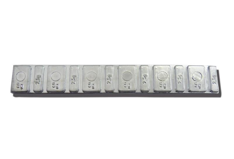 Samolepící závaží MOTO Barreta 45g - pásek NORTON - balení po 100 ks