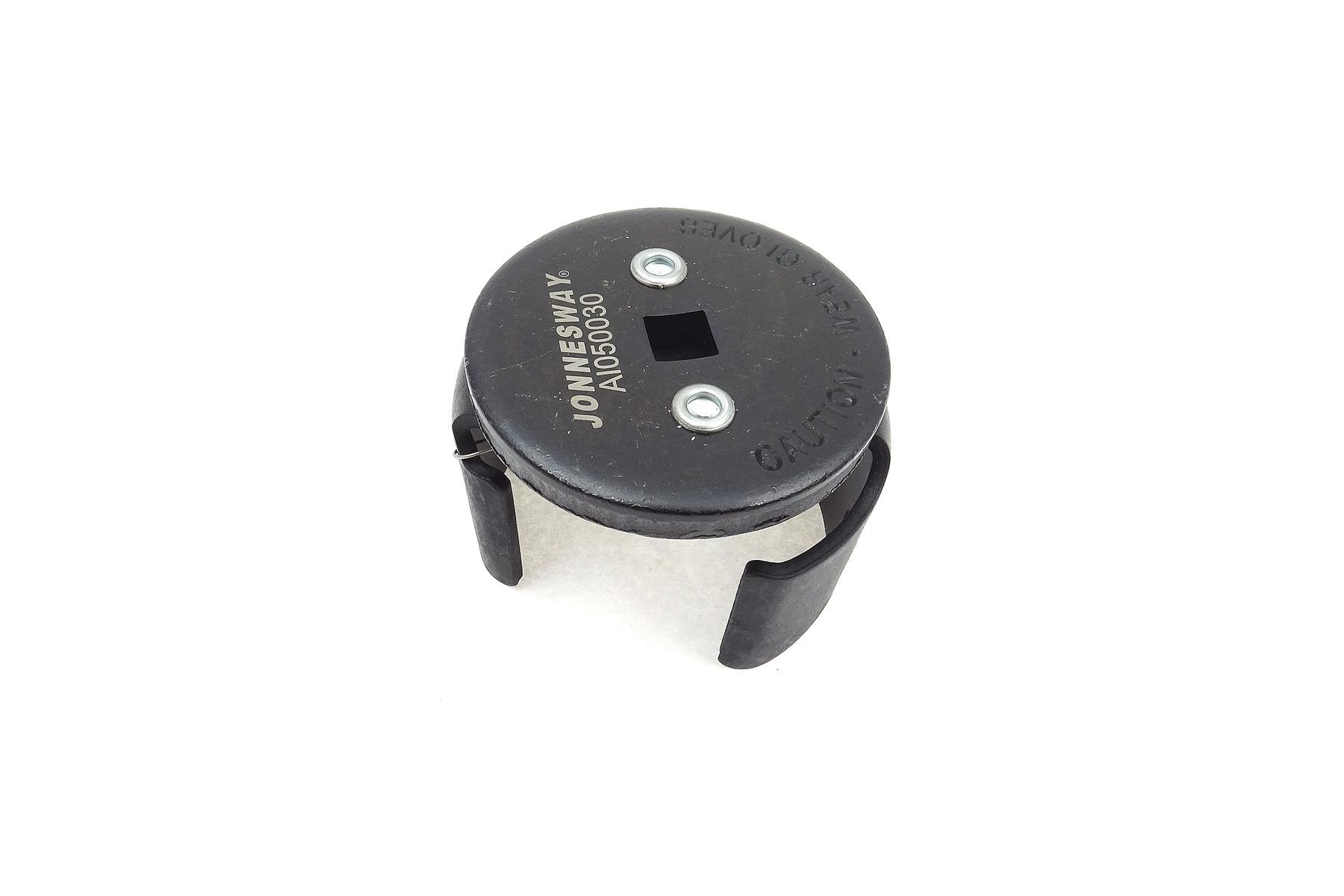 Samonastavitelný tříramenný klíč na olejové filtry, 60-80 mm - JONNESWAY AI050030