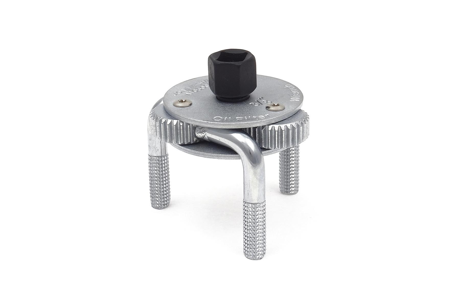 Samostavitelný tříramenný klíč na olejové filtry 65 - 120 mm - JONNESWAY AI050001
