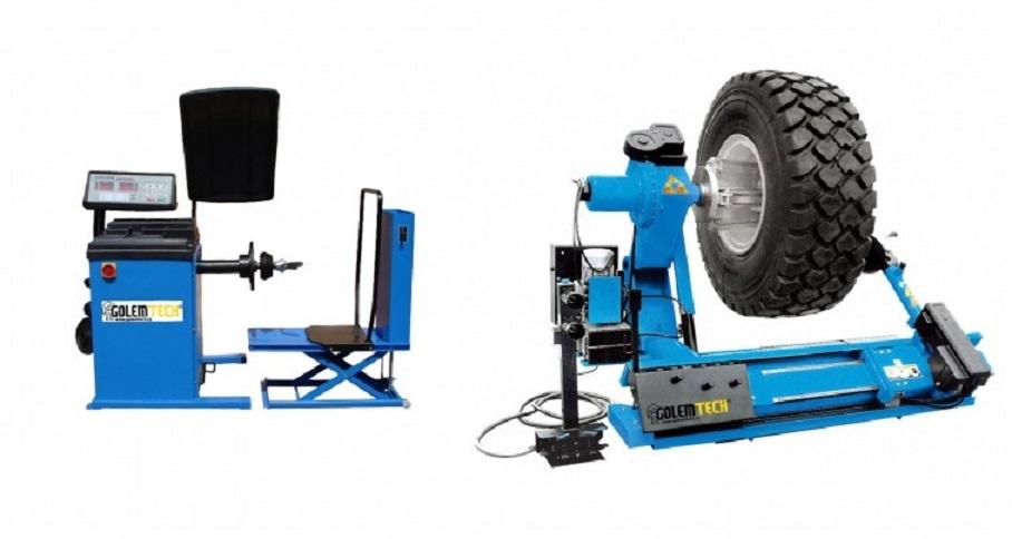 Set 4 PROFI: Nákladní zouvačka TRC-02 a nákladní vyvažovačka TRB-01 - Golemtech