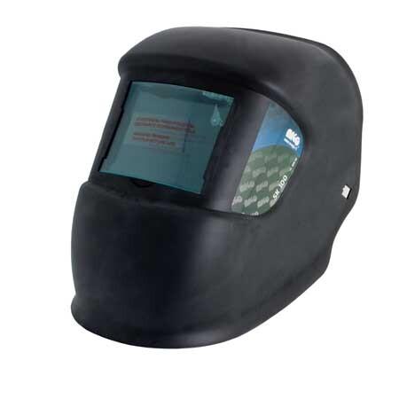 Svářecí kukla tmavost skla DIN10