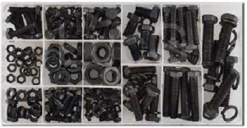 Spojovací materiál - šrouby, matice a pérovky, sada 240 kusů