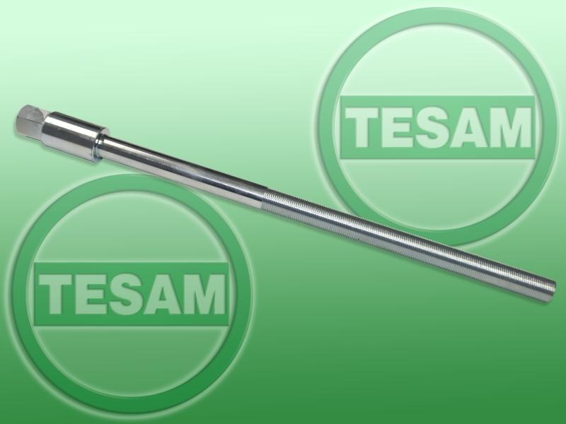 Šroub pro hydraulický stahovák nábojů a ložisek kol, dlouhý 425 mm - TESAM TS978