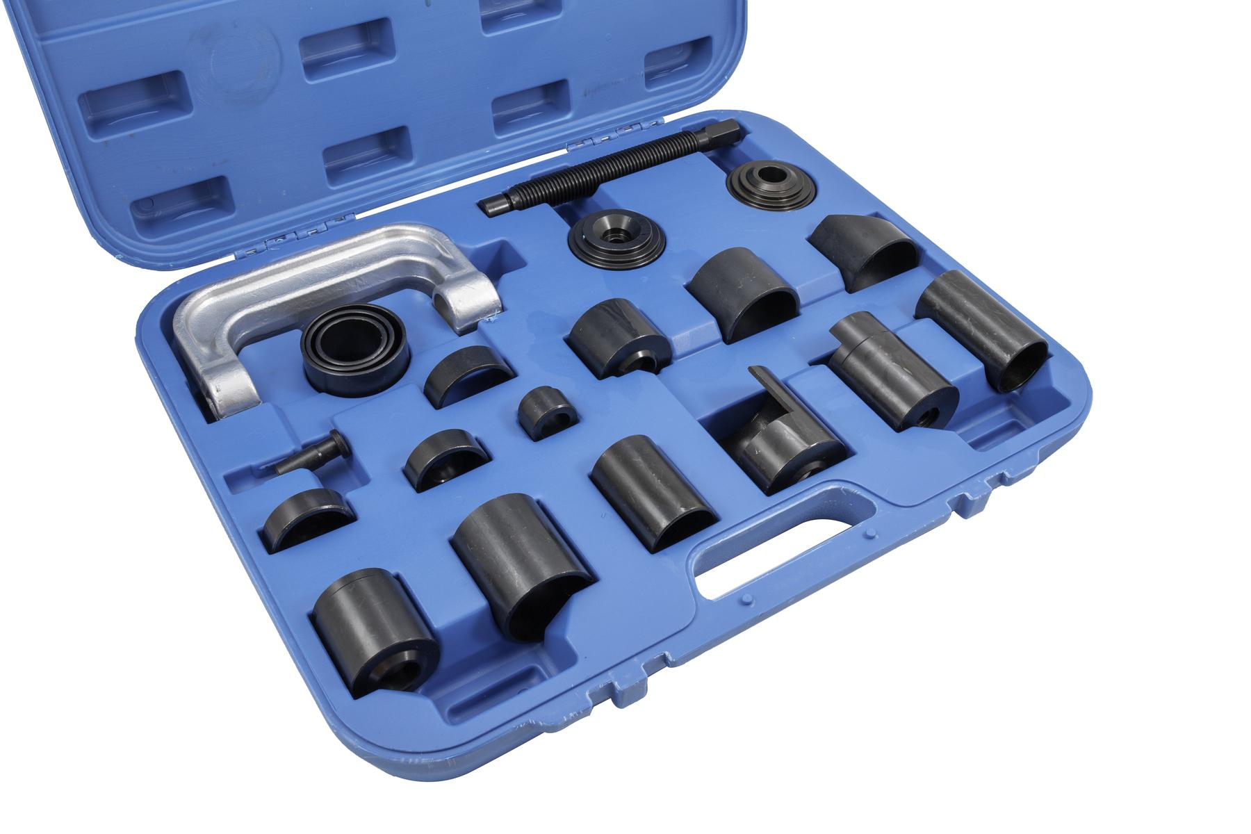 Stahovák kulových čepů a brzdových čelistí, 21 kusů - QUATROS QS12011
