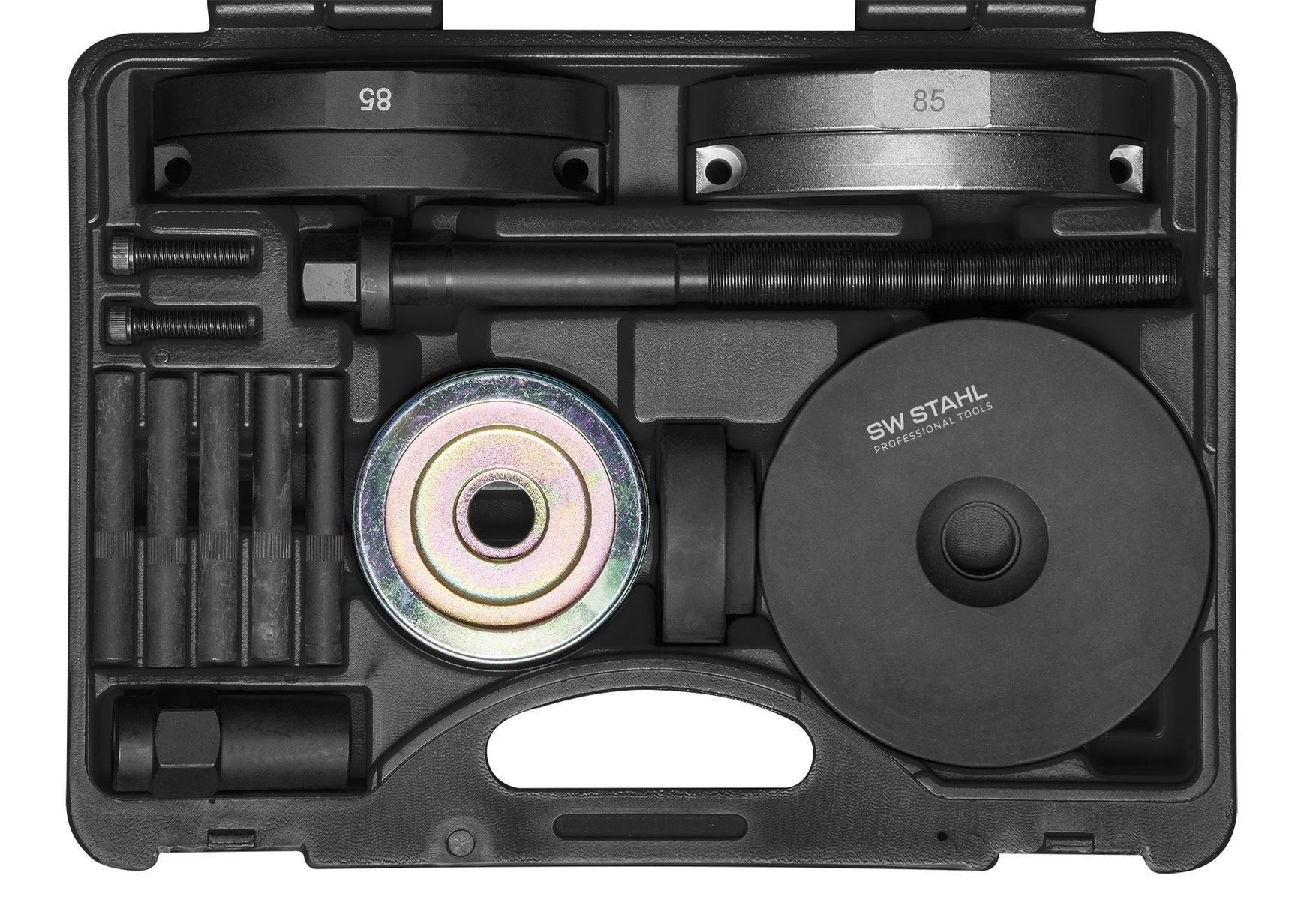Stahovák pro montáž a demontáž náboje a ložiska kola VW T5, T6 a Touareg - SW Stahl