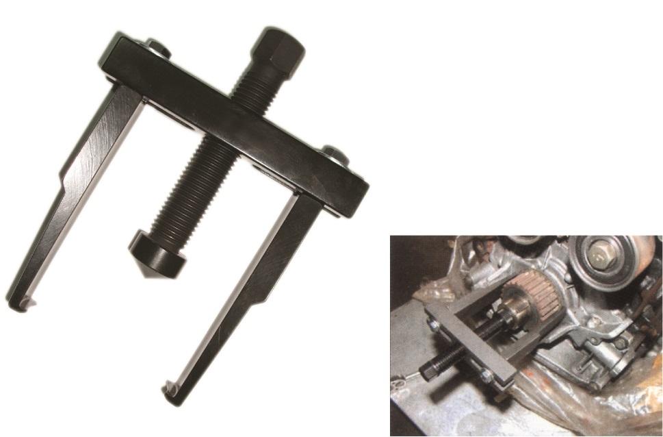 Stahovák na řemenici klikové hřídele, rozsah 40 - 90 mm - JONNESWAY AE310151