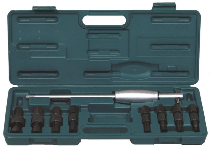 JONNESWAY AE310082 Stahovák vnitřních ložisek kol, rozsah 8-32 mm, s reverzním kladivem