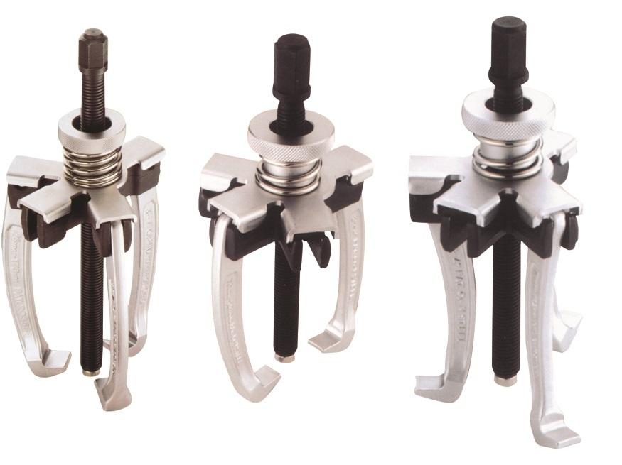 Stahováky dvou a tříramenné, univerzální s vyměnitelnými rameny - JONNESWAY