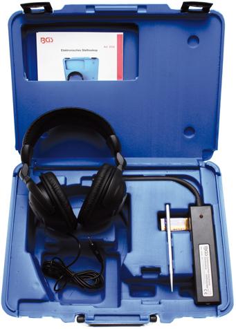 Stetoskop pro motory, elektronický - BGS 3530
