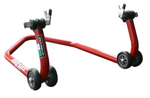 Stojan na silniční motocykly - moto stojan zadní, extra nízký 27 cm