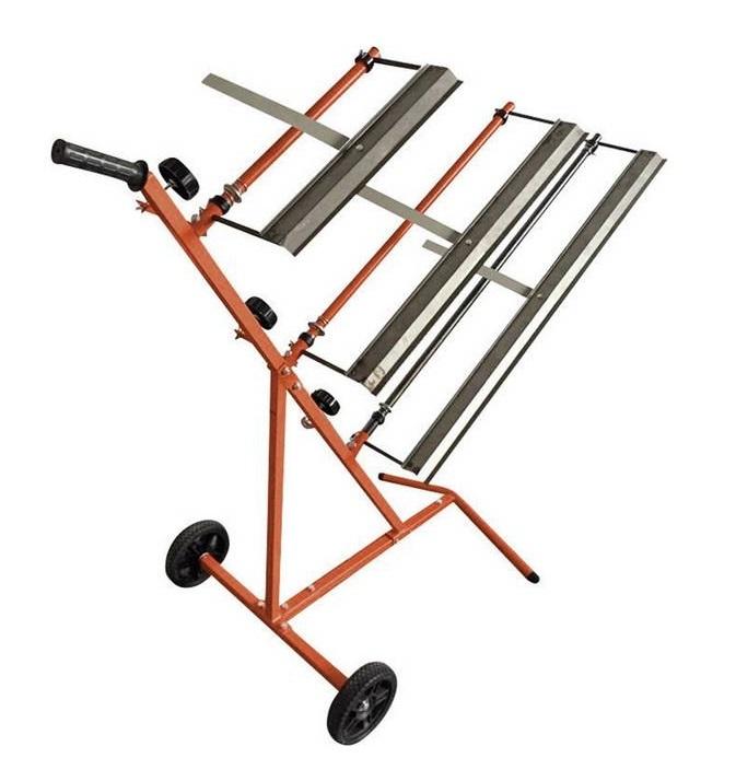 Stojan - vozík na krycí fólie, pro 3 různé velikosti - Kunzer