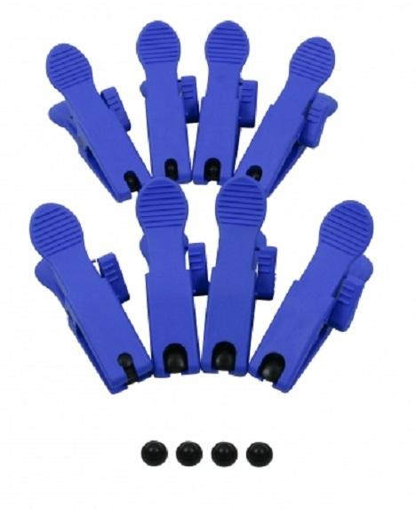 Svorky na kovové hadice, utěsnění konců brzdového potrubí sada 8 kusů - JONNESWAY AR060054