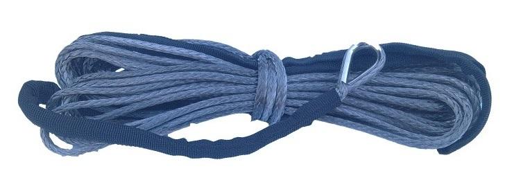 Syntetické lano pro navijáky Golemwinch, tažná síla 1,6 t, délka 14 m - Golemtech