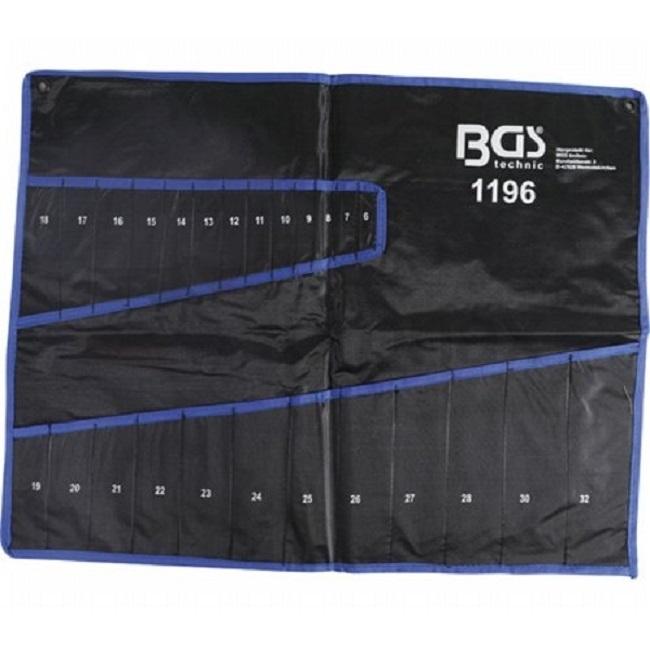 Náhradní taška, obal na klíče, 6 - 32 mm, tetronový - BGS 1196-1