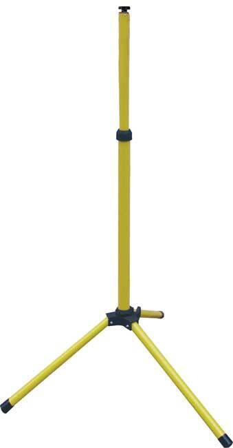 Stojan pro reflektory teleskopický, 160 cm, hliník