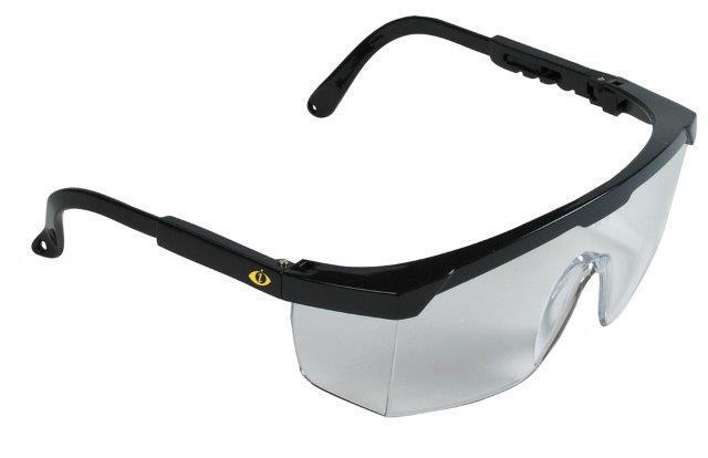 Ochranné brýle nastavitelné, čirý zorník