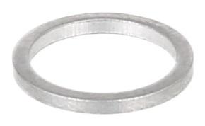 Těsnicí kroužek hliníkový, průměr 12/15,5 mm, tloušťka 1,5 mm, pro BMW