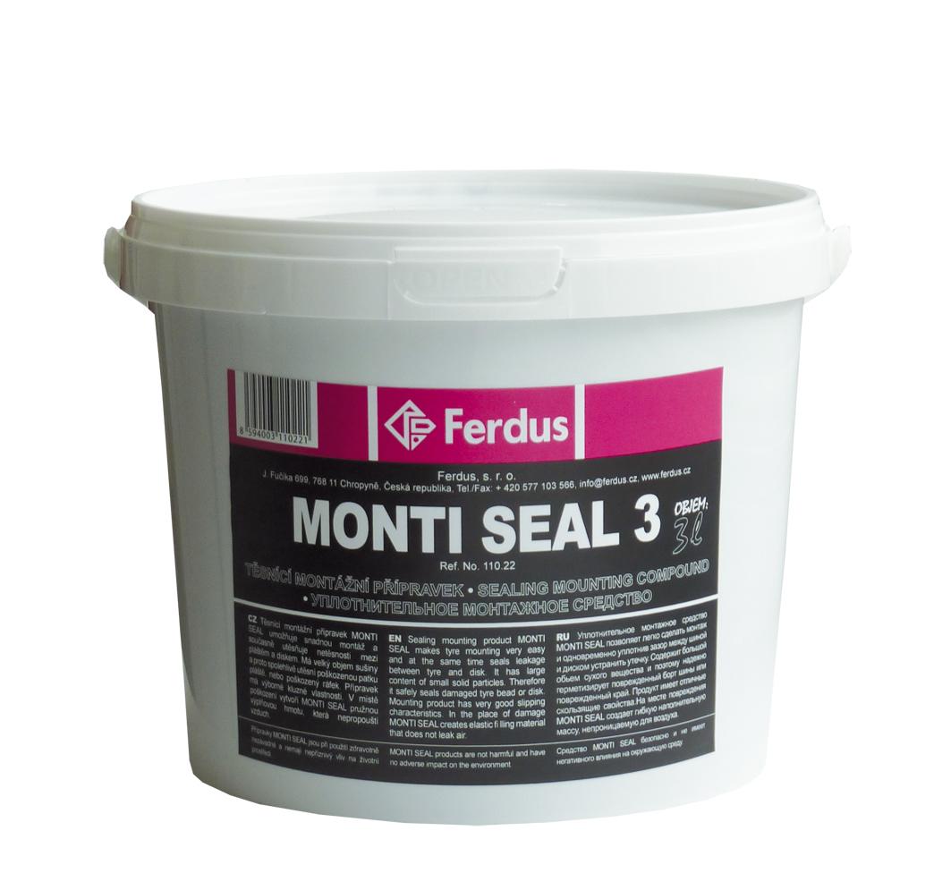Těsnicí montážní přípravek MONTI SEAL 3, 3000 ml - Ferdus 110.22