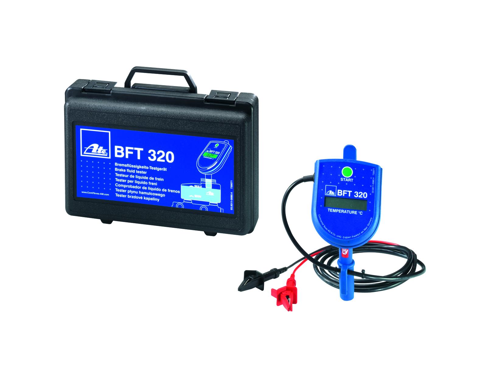 Tester brzdové kapaliny DOT 3, DOT 4 a DOT 5.1, připojení na 12V - ATE BFT 320