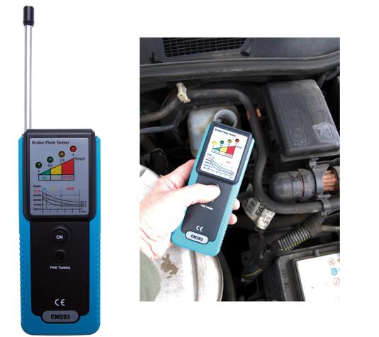 Tester kvality brzdové kapaliny - BGS 63525