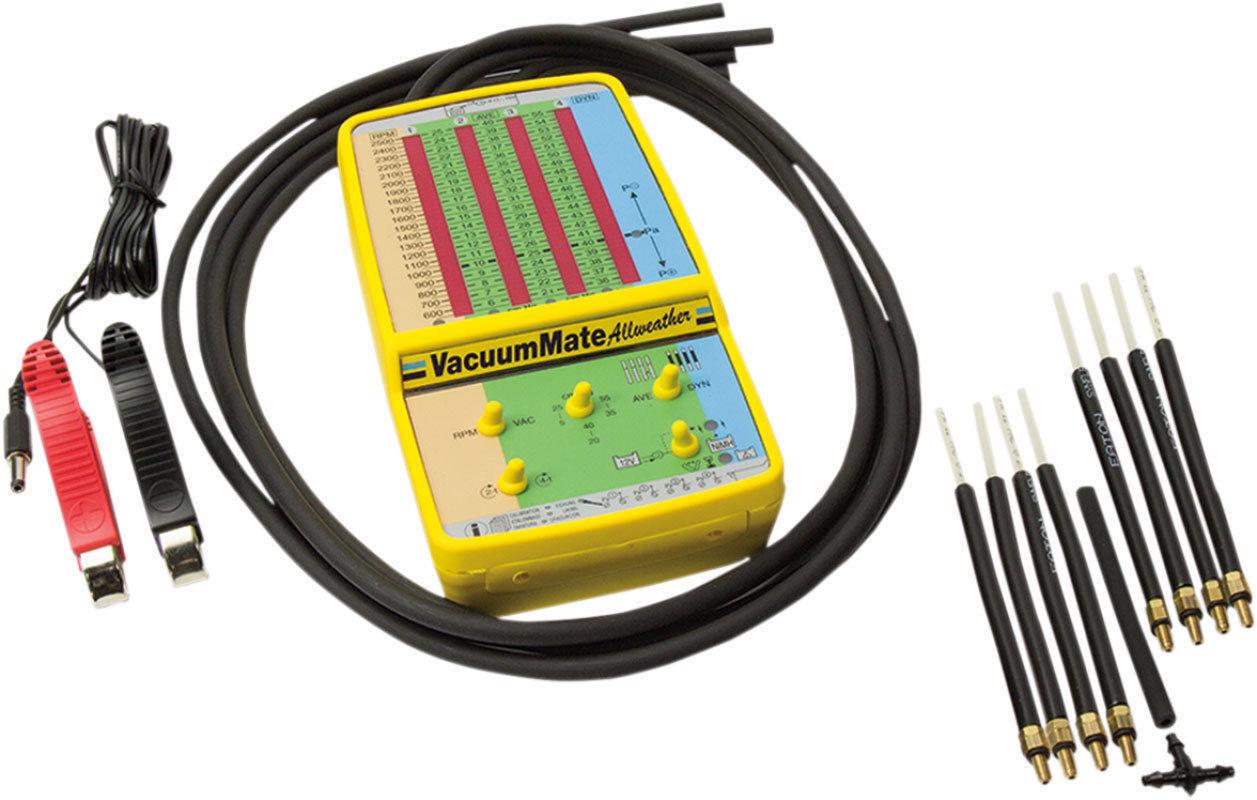 Tester na synchronizaci karburátorů, měření podtlaku sání-  VacuumMATE
