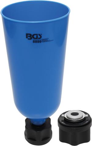 Trychtýř pro plnění oleje s bajonetem, pro VAG, Mercedes, BMW, Porsche, Volvo - BGS 8899