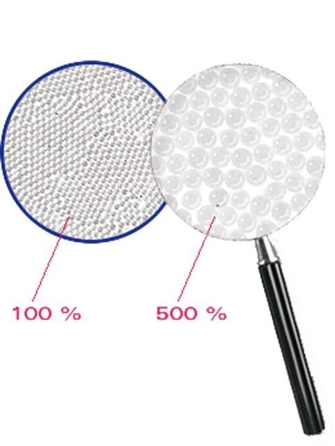 Tryskací prostředek, tzv. skleněný písek, 100 - 200 mikronů, 25 kg, na citlivé povrchy