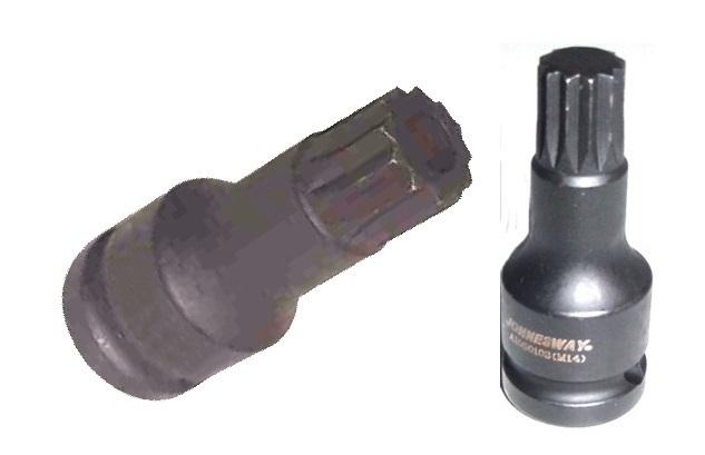 """Úderový klíč XZN M14 x 60, 1/2"""", na demontáž čepů VW T4 - JONNESWAY AI050103"""