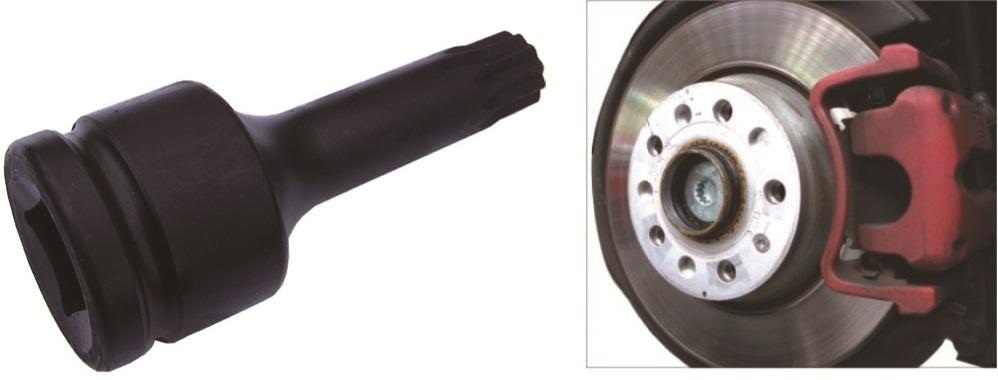 """Úderový klíč XZN M18 x 105, 3/4"""", na náboje zadní nápravy VW, AUDI - JONNESWAY AN010202"""