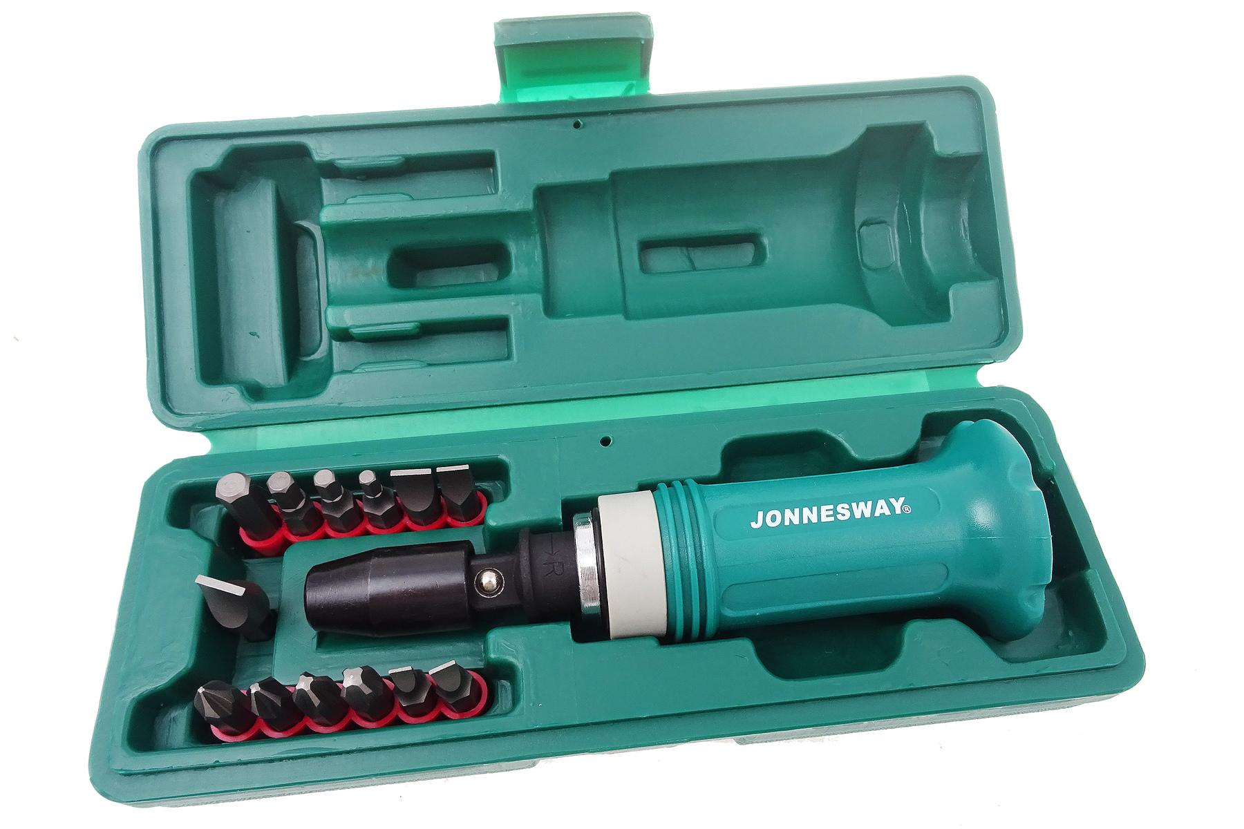 "Úderový / rázový šroubovák s adaptérem 1/2"" - JONNESWAY AG010138"
