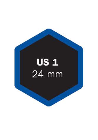 Univerzální opravná vložka US 1 24 mm - 1 kus - Ferdus 4.25