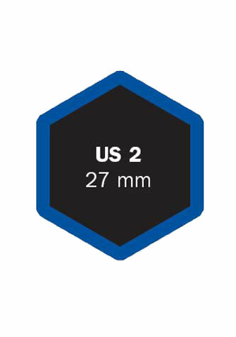 Univerzální opravná vložka US 2 27 mm - 1 kus - Ferdus 4.24