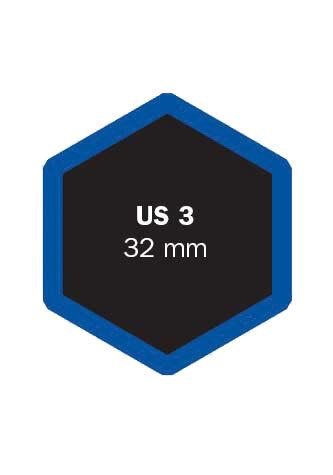 Univerzální opravná vložka US 3 32 mm - 1 kus - Ferdus 4.20