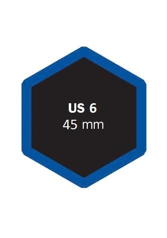 Univerzální opravná vložka US 6 45 mm - 1 kus - Ferdus 4.22