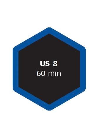 Univerzální opravná vložka US 8 60 mm - 1 kus - Ferdus 4.23