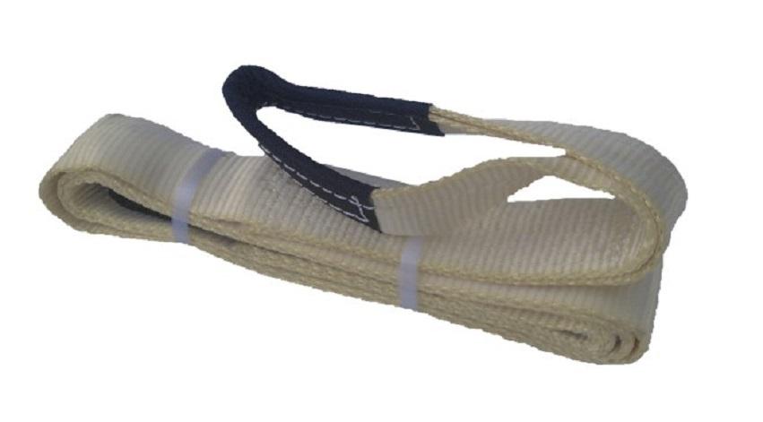 Upínací pás s oky - kurtna, tažná síla 16 t, délka 3 m, pro vyprošťování vozů - Golemtech