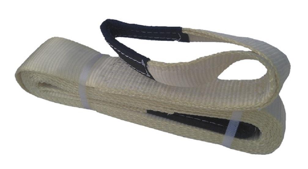 Upínací pás s oky - kurtna, tažná síla 16 t, délka 6 m, pro vyprošťování vozů - Golemtech